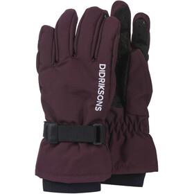 DIDRIKSONS Biggles Five Gloves Kids, plum